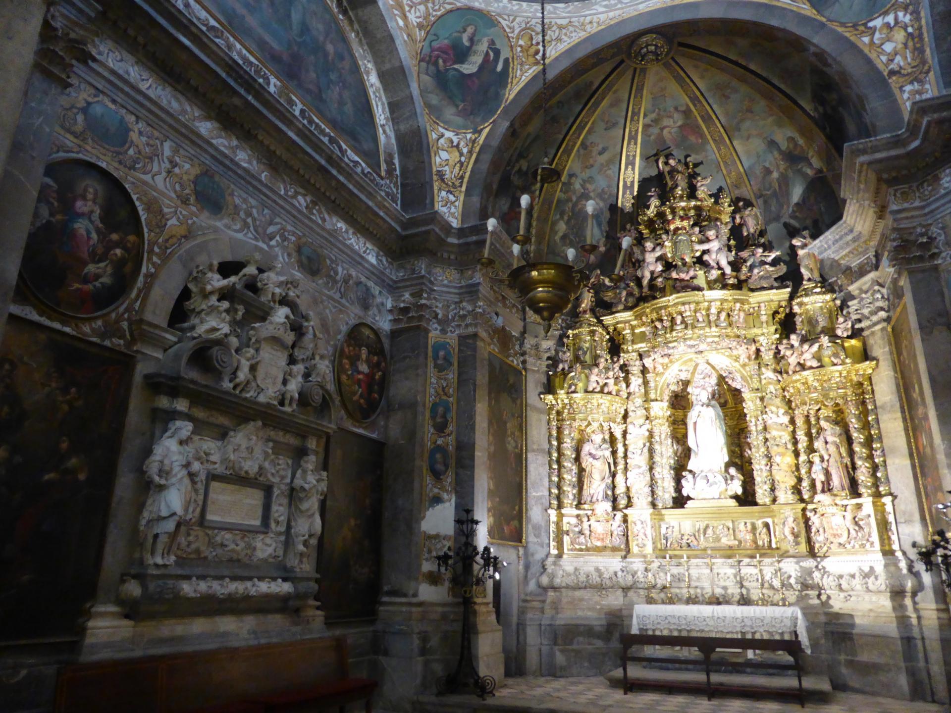 Tarragone, cathédrale, chapelle latérale, XVIIe siècle, cl. Ph. Cachau